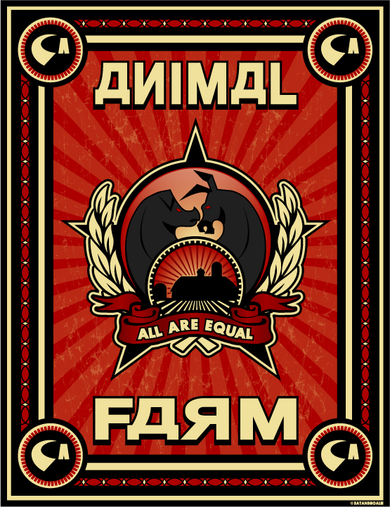 is animal farm greater than c s lewis thoughts about  animal farm russian style