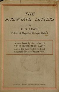 the screwtape letters by cs lewis 1st ed