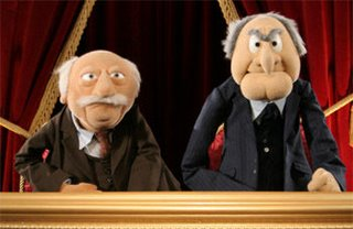Image result for muppets old men