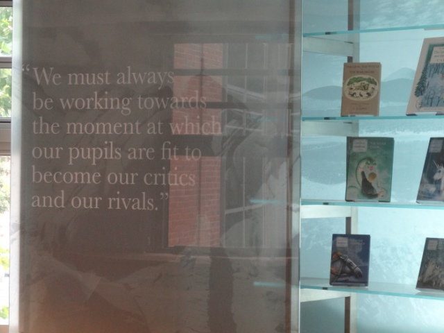 cs lewis reading room queens university belfast quote