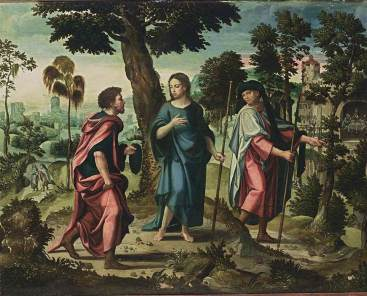 Pieter_Coecke_van_Aelst_-_Christ_and_His_Disciples_on_Their_Way_to_Emmaus