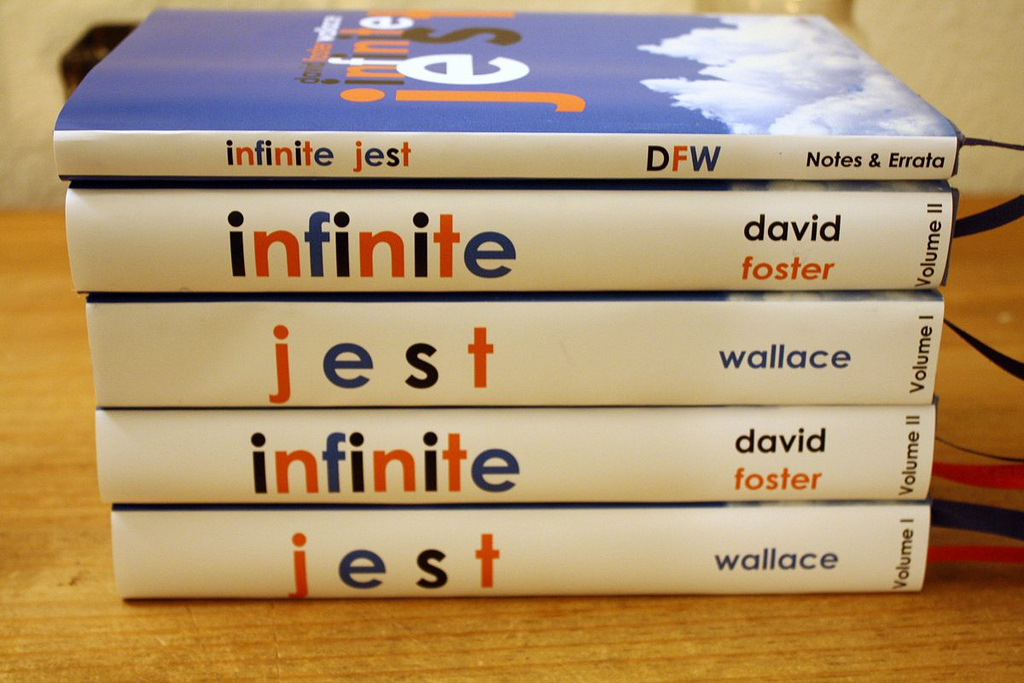 a review of infinite jest a novel by david foster wallace This month there is a bonus episode of the ark audio book club podcast on david foster wallace's epic of tennis, drug addiction and tv in preparation for that, the.