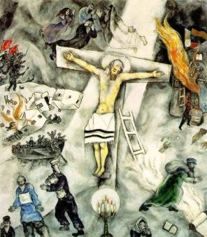 Chagall's White Crucifixion
