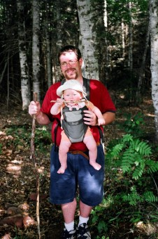 Dad & Cole Hiking 2005