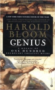 Harold Bloom genius