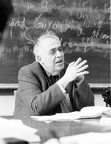 Harold Bloom teaching