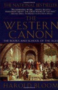 Harold Bloom western canon