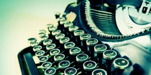 typewriter-writing