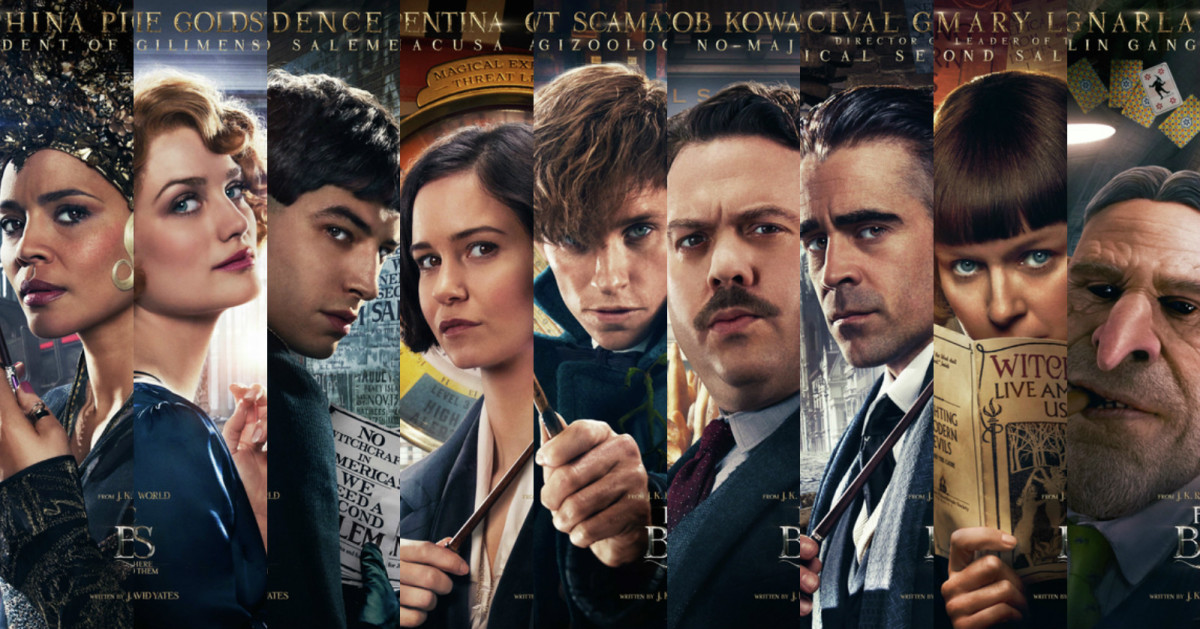 Image result for fantastic beasts characters