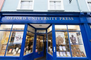 The Oxford University Press bookshop (where Charles Williams is supposed to have exorcised a ghost). Image by Takashi Hososhima.