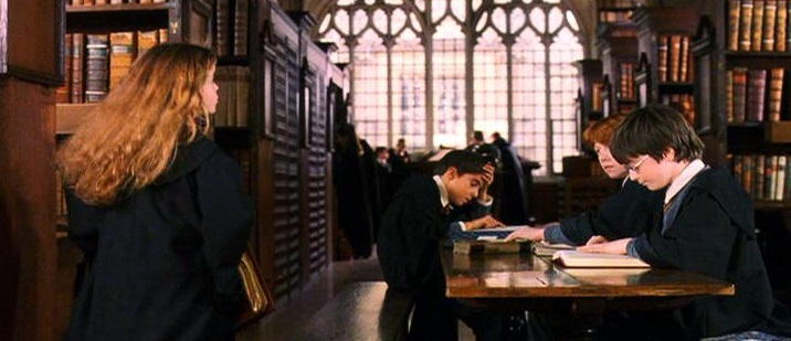 Biblioteca de Harry Potter