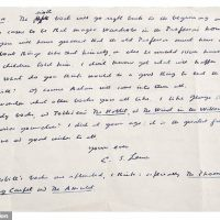 For £5,000 You Can Own A Piece of Narnia: New C.S. Lewis Letter Surfaces
