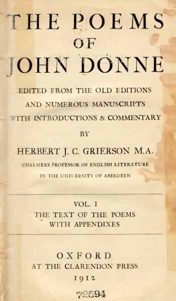 john donne poems