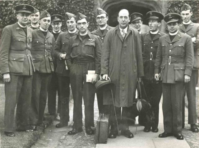 C.S. Lewis at RAF Chaplaincy School, 1944