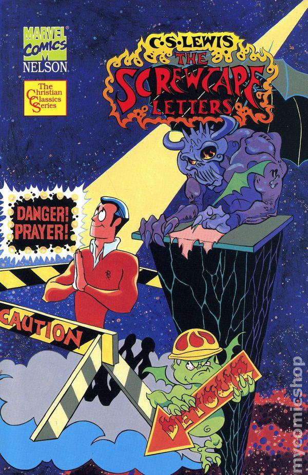Marvel Comics CS Lewis The Screwtape Letters cover