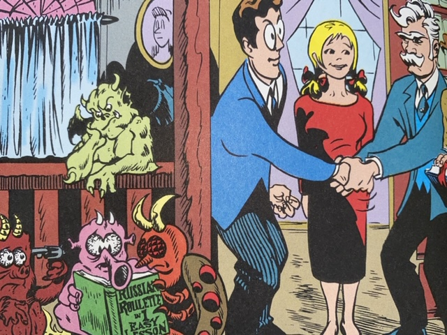 Marvel Comics CS Lewis The Screwtape Letters fashionable friends