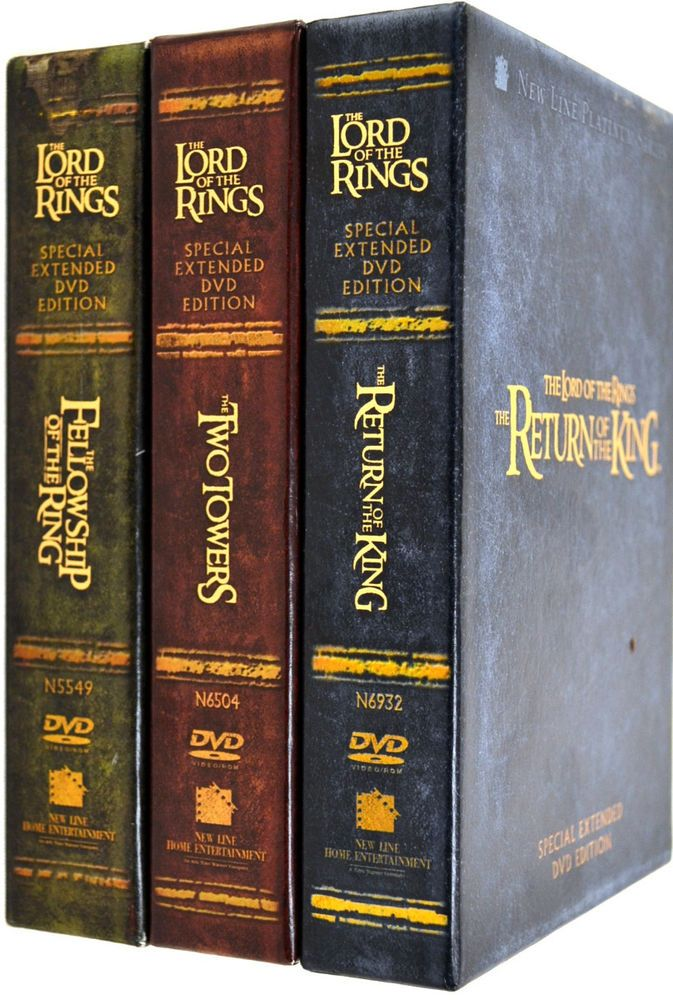 lord of the rings film box set