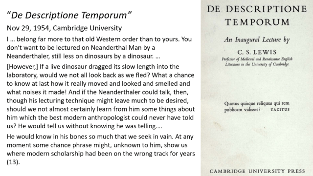 Lewis De Descriptione Temporum